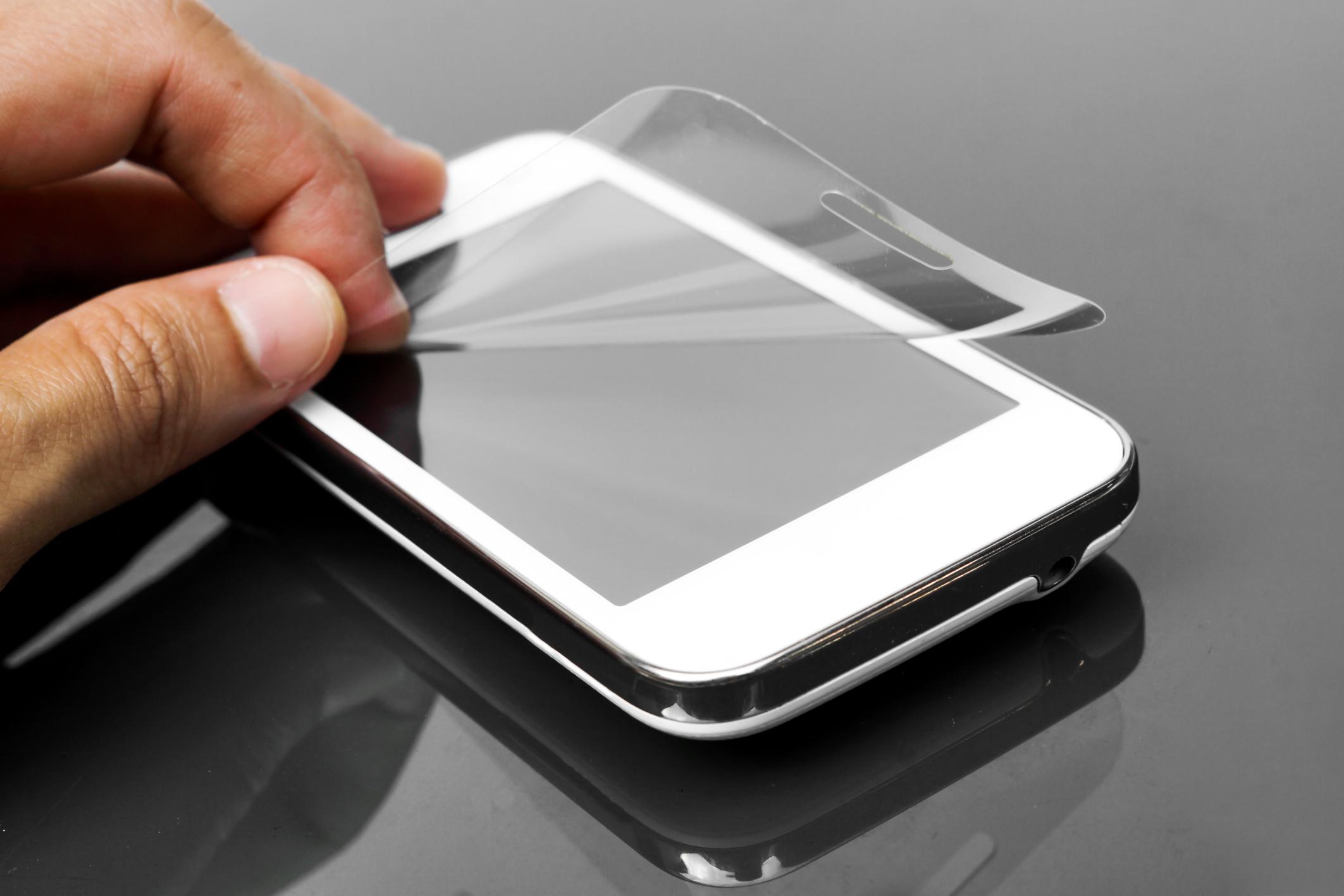 איך לנקות מסך של אייפון?